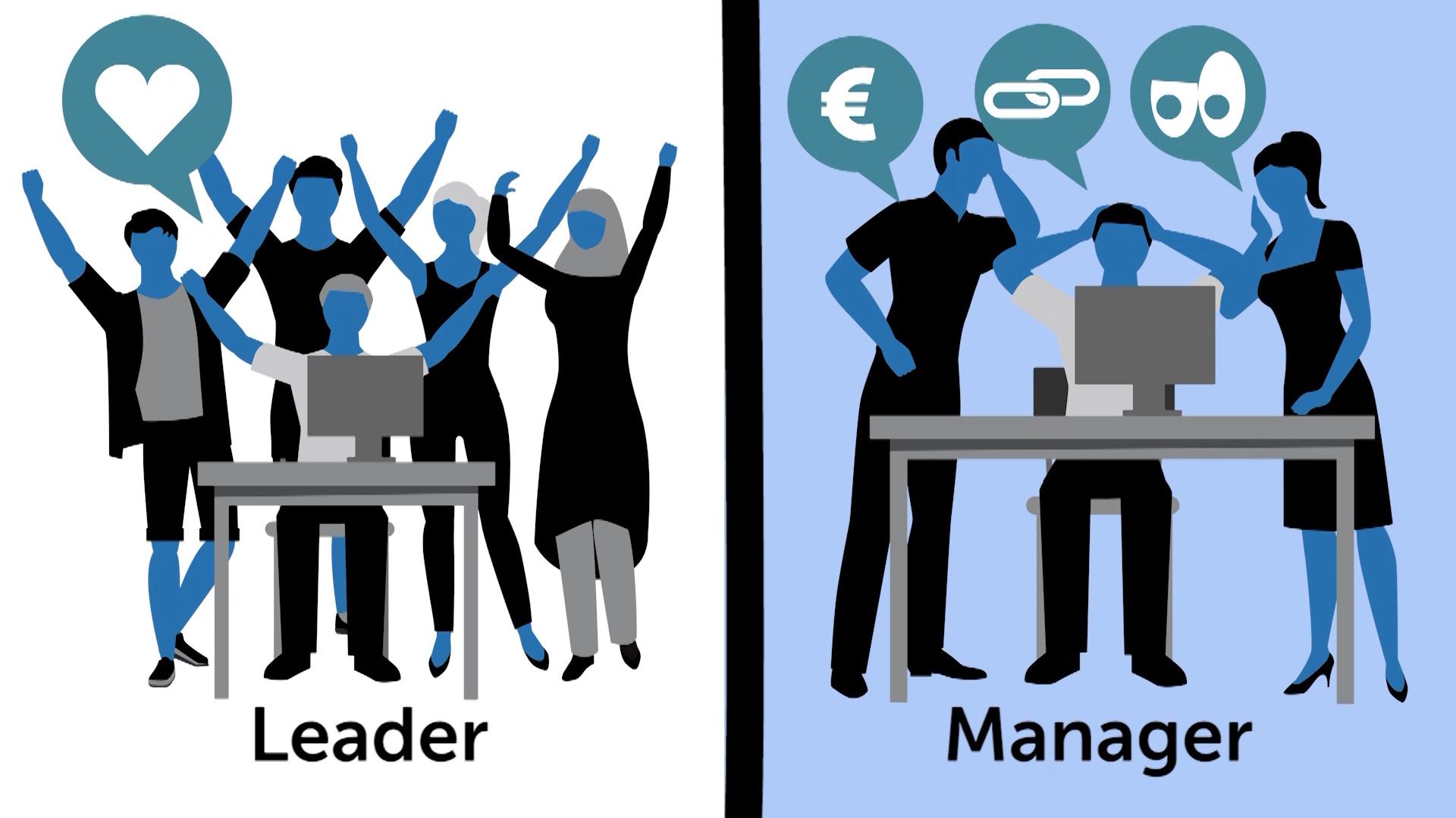 تفاوت های رهبری کردن و مدیریت کردن